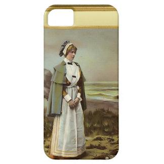 Nurse by the seaside iPhone SE/5/5s case