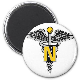 Nurse Caduceus Magnet