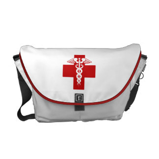 Nurse Caduceus Messenger Bag