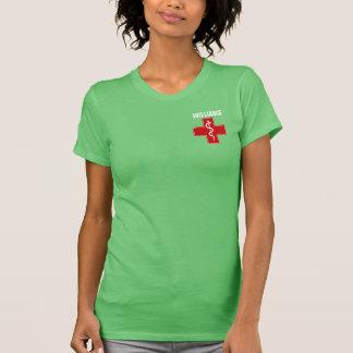 Nurse Caduceus Rod of Asclepius Shirt