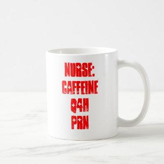 Nurse Caffeine Q4H PRN Coffee Mugs