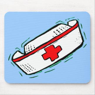 Nurse Cap Mouse Pad
