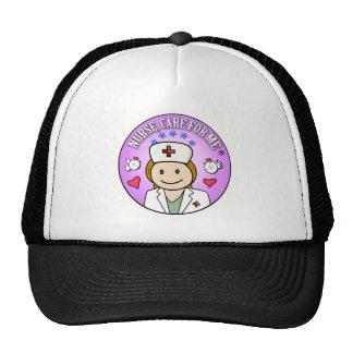 Nurse Care For Me Ginger Gorros Bordados