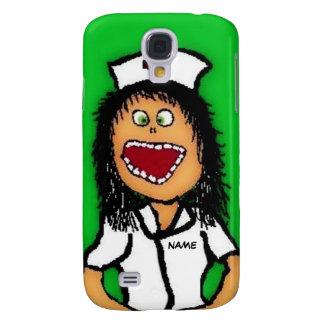 Nurse Cartoon Galaxy S4 Case