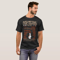 Nurse Case Manager Facts Tshirt