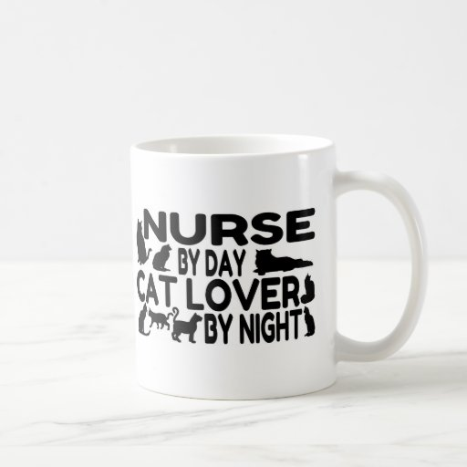 Nurse Cat Lover Coffee Mug