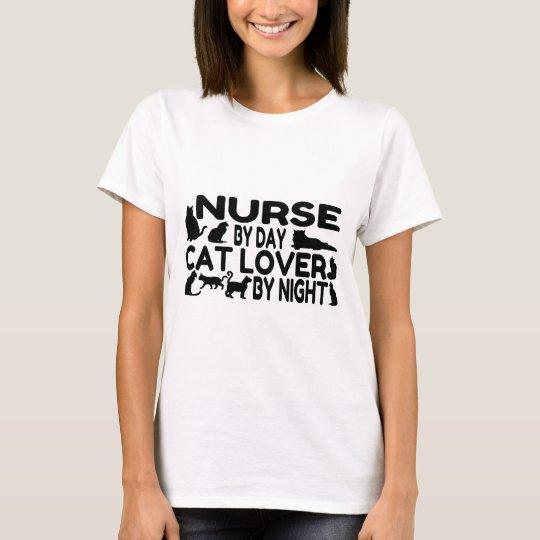 Nurse Cat Lover T-Shirt
