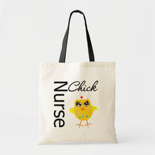 Nurse Chick Budget Tote Bag