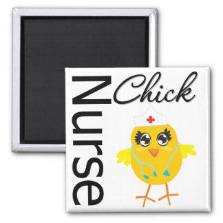 Nurse Chick Magnets
