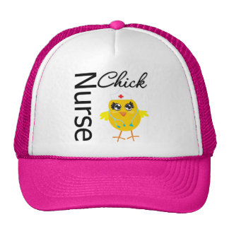 Nurse Chick Mesh Hats
