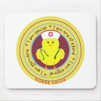 Nurse Chick Mousepads