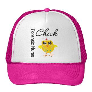 Nurse Chick v1 Forensic Nurse Mesh Hats