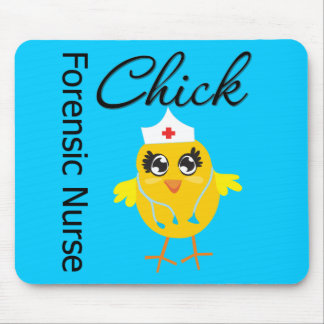 Nurse Chick v1 Forensic Nurse Mouse Pad