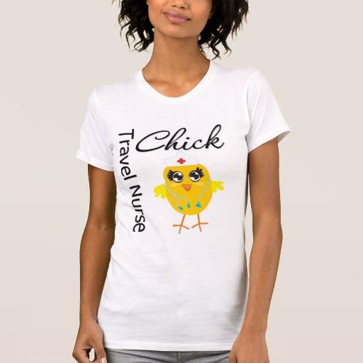 Nurse Chick v1 Travel Nurse T Shirt T-Shirt, Hoodie, Sweatshirt