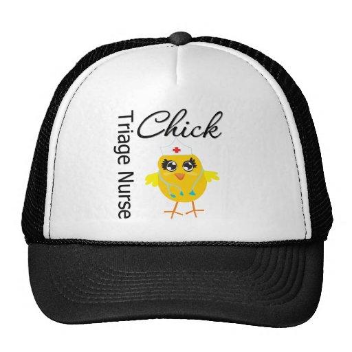 Nurse Chick v1 Triage Nurse Trucker Hat
