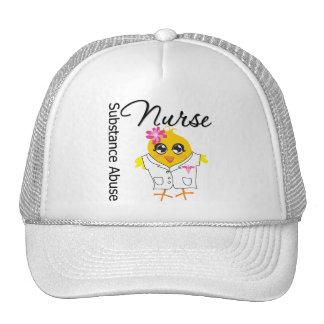 Nurse Chick v2 Substance Abuse Nurse Hat