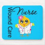 Nurse Chick v2 Wound Care Nurse Mousepad