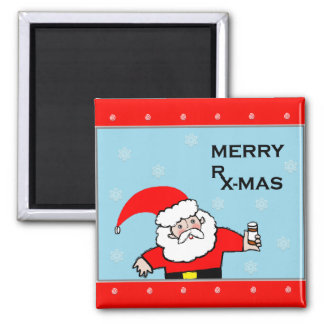 nurse Christmas gifts 2 Inch Square Magnet