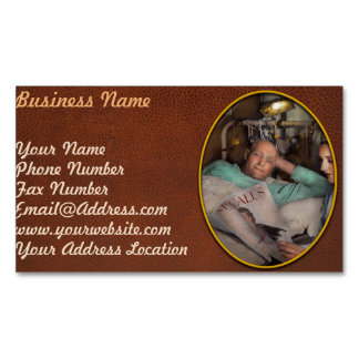 Nurse - Comforting thoughts 1933 Magnetic Business Card