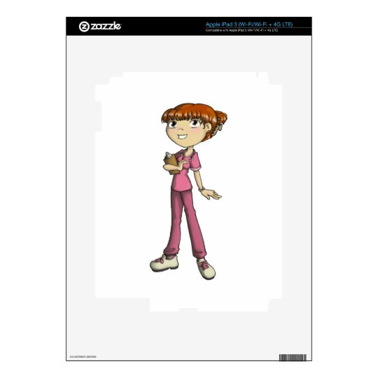 Nurse Decal For iPad 3