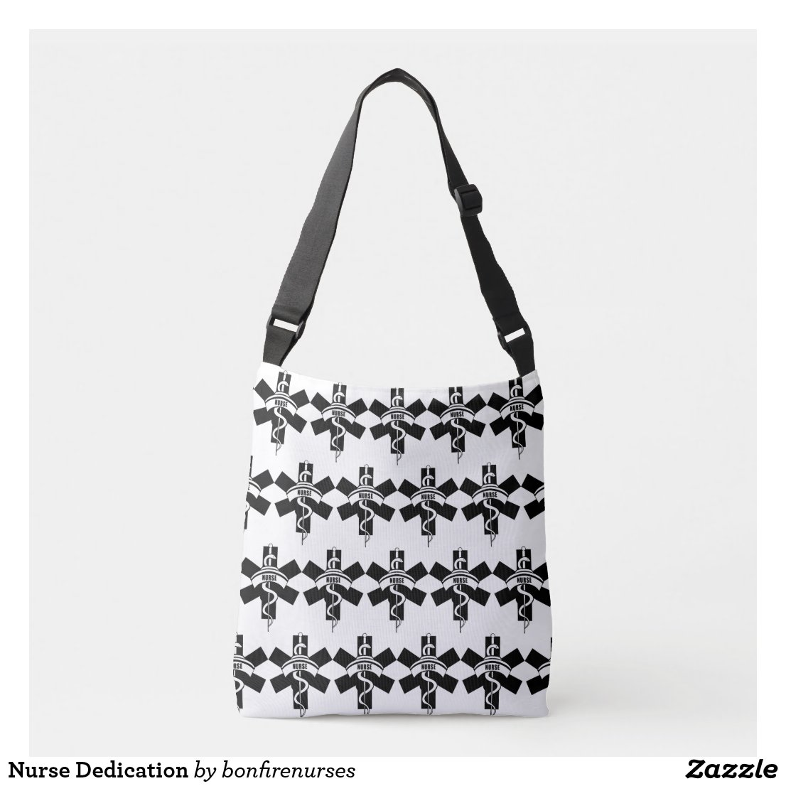 Nurse Dedication Crossbody Bag