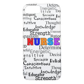 Nurse Describing Words Gifts iPhone 8/7 Case