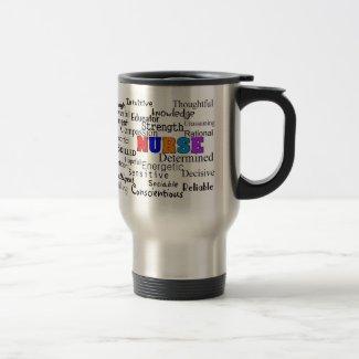 Nurse Describing Words Gift Mug