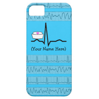 Nurse Design iPhone 5 Barely There Case Blue iPhone 5/5S Case