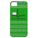 Nurse Design iPhone 5 Barely There Case Green iPhone 5 Covers