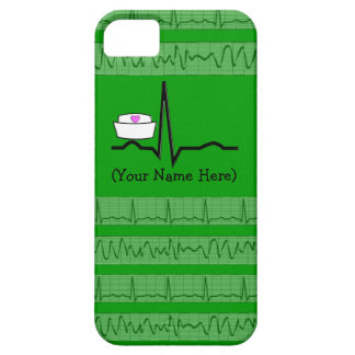 Nurse Design iPhone 5 Barely There Case Green iPhone 5 Cover