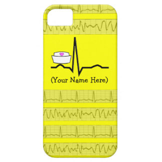 Nurse Design iPhone 5 Barely There Case Yellow iPhone 5/5S Covers