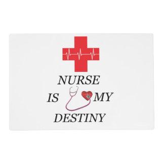 Nurse Destiny Placemat