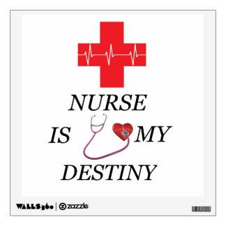 Nurse Destiny Wall Sticker