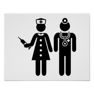 Nurse doctor poster