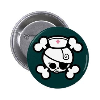 Nurse Dolly Pinback Button