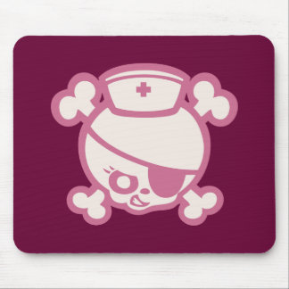Nurse Dolly -Pink Mouse Pad
