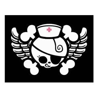 Nurse Dolly Wings Postcard
