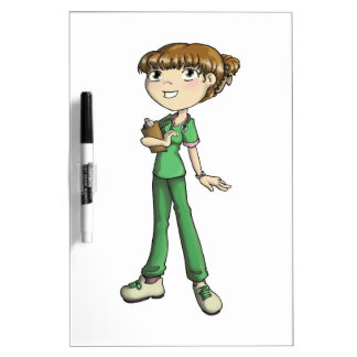 Nurse Dry-Erase Board