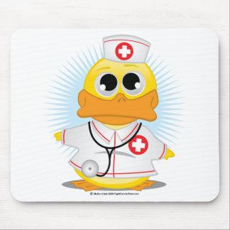 Nurse Duck Mouse Pad