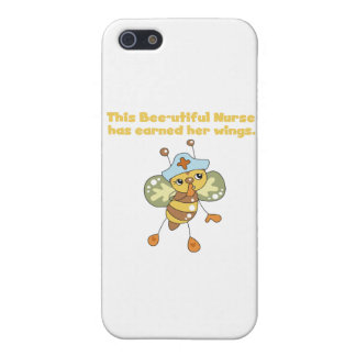 Nurse Earned Her Wings T-shirts and Gifts iPhone 5/5S Cases