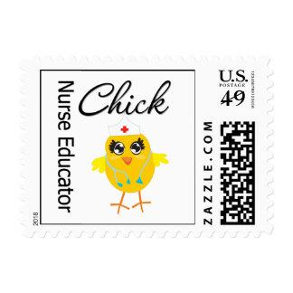 Nurse Educator Chick v1 Stamp