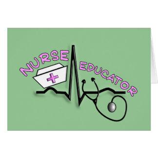 Nurse Educator QRS and Nurse Cap Design Card