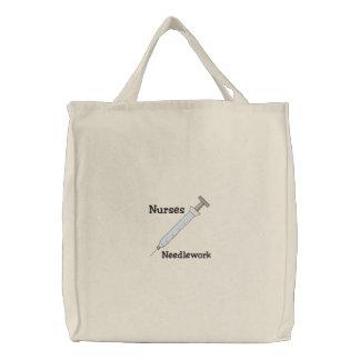 Nurse Embroidered Bag