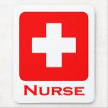 Nurse-English Mouse Pad