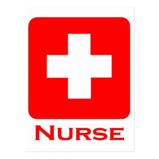 Nurse-English Postcard