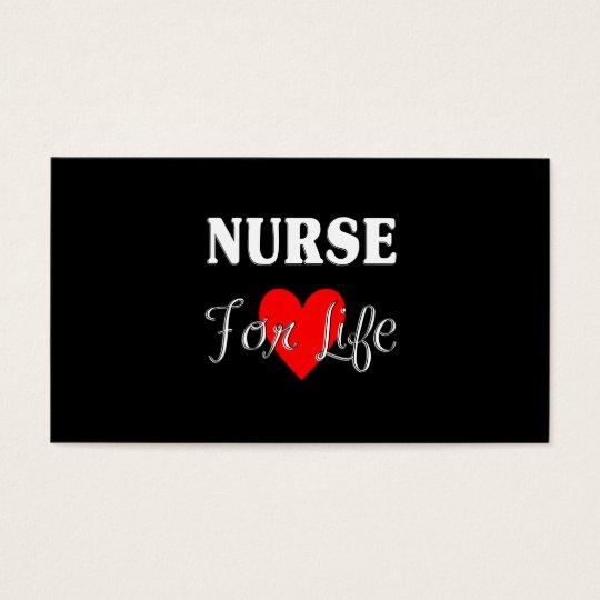 Nurse For Life Business Card