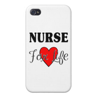Nurse For Life iPhone 4/4S Cover