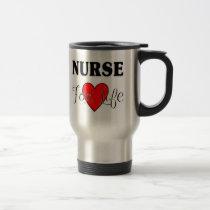 Nurse For Life RN & LPN Mug