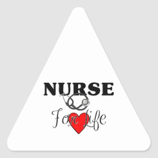 Nurse For Life Stickers