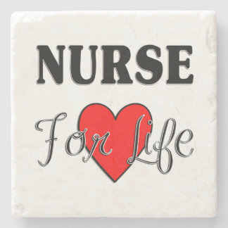 Nurse For Life Stone Coaster